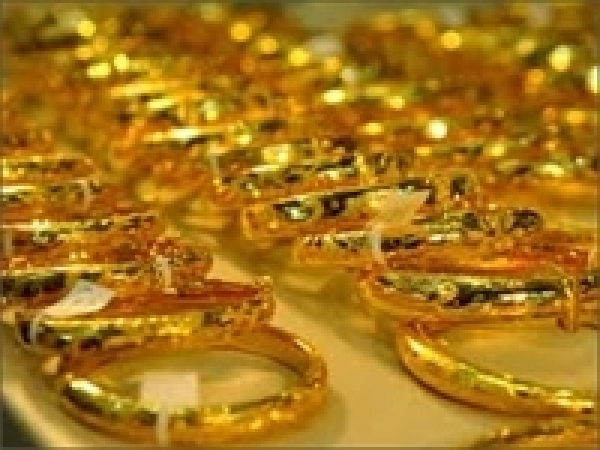Gold prices increase sharply