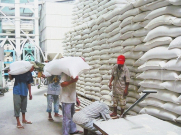 Businesses sell abroad 4.5 million tonnes of rice