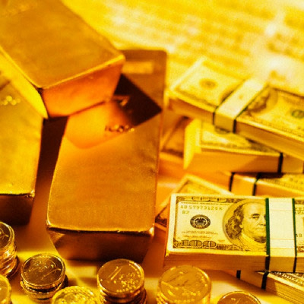 Gold and dollar decline