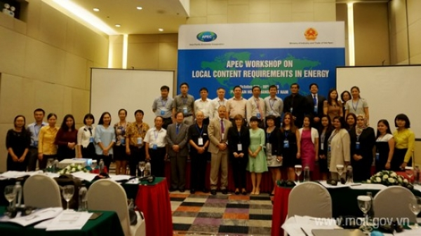 APEC Workshop on Local Content Requirements in Energy
